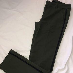 Zara woman forest green dress pants